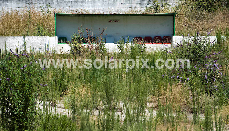 **EXCLUSIVE PICTURES FROM SOLARPIX.COM**                                             **WORLDWIDE SYNDICATION RIGHTS**                                                                                  Caption:.Feature on the life story New Manager of Chelsea FC Andre Villas-Boas from Porto in Portugal.                                                                               This pic: Football field of Ramaldense Futebol Club, where Andre Villas-Boas played soccer, now abandoned                                                                                            JOB REF: 13609       PDP       DATE:24.06.2011                                                            **MUST CREDIT SOLARPIX.COM OR DOUBLE FEE WILL BE CHARGED**                                                                      **MUST AGREE FEE BEFORE ONLINE USAGE**                               **CALL US ON: +34 952 811 768 or LOW RATE FROM UK 0844 617 7637**