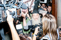 Vermin Supreme - New Hampshire State House - Filing Candidacy - Concord, NH - 20 Nov 2015