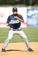 April 17 2010: Adam Younger of the Cedar Rapids Kernels at Elfstrom Stadium in Geneva, IL. The Kernels are the Low A affiliate of the Los Angeles Angels. Photo by: Chris Proctor/Four Seam Images
