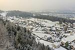 Schellenberg, Drohnenaufnahme: Liechtenstein.<br /> <br /> Foto: ©Paul J. Trummer