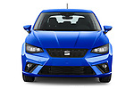 Car photography straight front view of a 2022 Seat Ibiza Move!-+ 5 Door Hatchback Front View