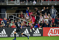 Washington, DC. - Wednesday, July 25 2018: The New York Red Bulls defeated D.C. United 1-0 in a MLS match at Audi Feld.