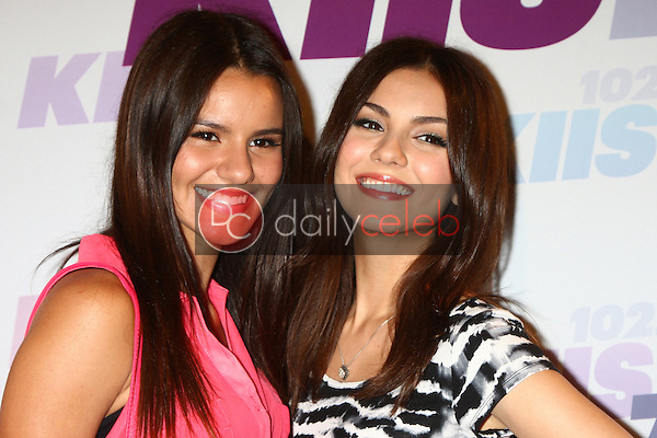 Madison Grace Reed, Victoria Justice<br /> at the 2013 Wango Tango concert produced by KIIS-FM, Home Depot Center, Carson, CA 05-11-13<br /> David Edwards/DailyCeleb.Com 818-249-4998