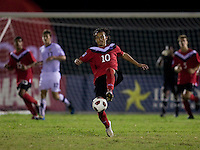 Keven Aleman. The United States defeated Canada, 3-0, during the final game of the CONCACAF Men's Under 17 Championship at Catherine Hall Stadium in Montego Bay, Jamaica.