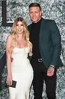 """Olivia Buckland and Alex Bowden<br /> at the European premiere of """"Collateral Beauty"""" at the Vue Leicester Square , London.<br /> <br /> <br /> ©Ash Knotek  D3213  15/12/2016"""