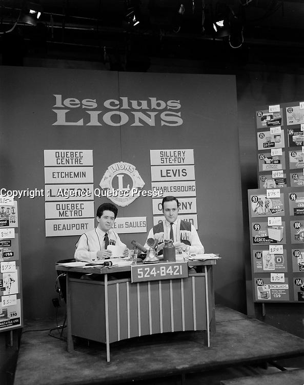 Club Lion, Quebec, <br /> Fevrier 1952 (date exacte inconnue)<br /> <br /> PHOTO :  Agence Quebec Presse