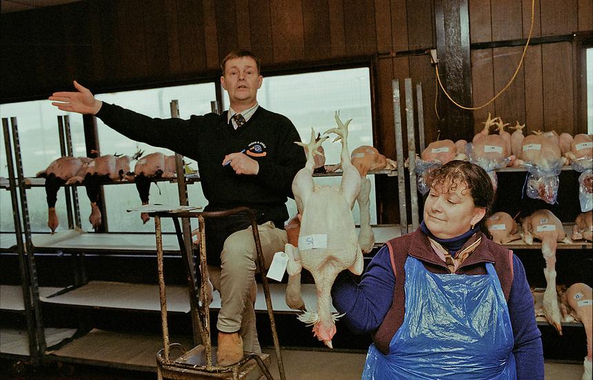 Swaffham Poultry Auction, Swaffham, Norfolk, UK.
