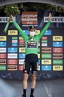 Wout van Aert (BEL/Jumbo - Visma) takes the green points jersey home<br /> <br /> Stage 5: Megève to Megève (154km)<br /> 72st Critérium du Dauphiné 2020 (2.UWT)<br /> <br /> ©kramon