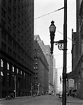 Pittsburgh PA:  View North at the corner of Diamond and Grant Streets.