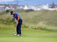 190719 | The 148th Open - Day 2<br /> <br /> Justin Thomas of USA on the 16th during the 148th Open Championship at Royal Portrush Golf Club, County Antrim, Northern Ireland. Photo by John Dickson - DICKSONDIGITAL