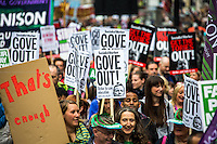"""10.07.2014 - #J10: """"We All Need A Pay Rise"""" - Public Sector Workers Strike & March"""