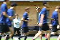 Soccer: Japan training session in Tirol, Austria