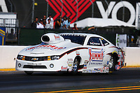 Jul. 26, 2013; Sonoma, CA, USA: NHRA pro stock driver Greg Anderson during qualifying for the Sonoma Nationals at Sonoma Raceway. Mandatory Credit: Mark J. Rebilas-