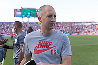SANDY, UT - JUNE 10: Head coach Gregg Berhalter of the United States during a game between Costa Rica and USMNT at Rio Tinto Stadium on June 10, 2021 in Sandy, Utah.