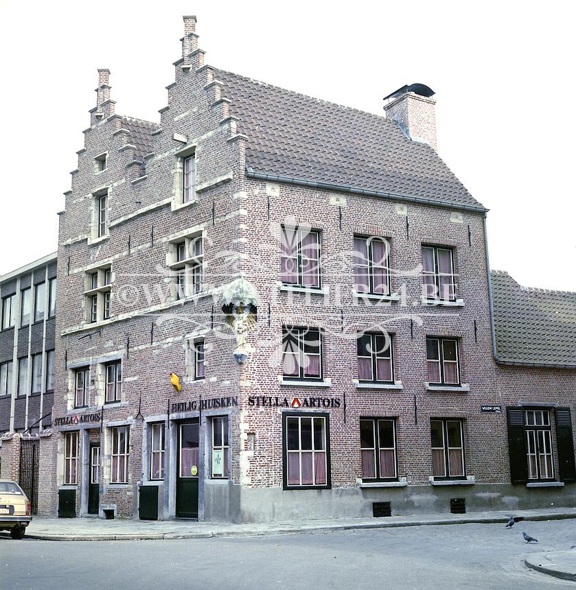 Februari 1978. Café Heilig Huisken in Antwerpen.
