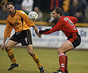 07/01/2006         Copyright Pic: James Stewart.File Name : sct_jspa08_alloa_v_livingston.ROSS HAMILTON AND GREG STRONG CHALLENGE FOR THE BALL....Payments to :.James Stewart Photo Agency 19 Carronlea Drive, Falkirk. FK2 8DN      Vat Reg No. 607 6932 25.Office     : +44 (0)1324 570906     .Mobile   : +44 (0)7721 416997.Fax         : +44 (0)1324 570906.E-mail  :  jim@jspa.co.uk.If you require further information then contact Jim Stewart on any of the numbers above.........