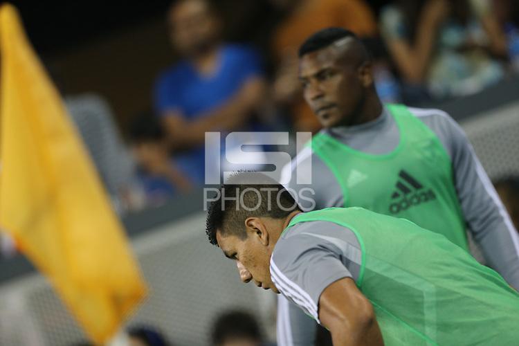 SAN JOSE, CA - AUGUST 31: Nick Lima of the San Jose Earthquakes during a Major League Soccer (MLS) match between the San Jose Earthquakes and the Orlando City SC  on August 31, 2019 at Avaya Stadium in San Jose, California.