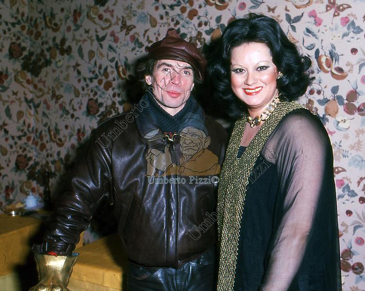 RUDOLF NUREYEV<br /> BELLA BLU ROMA 1985