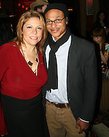 Sophia Santi and Clinton H. Wallace<br /> at the Playback Wrap Party, House of Blues, West Hollywood, CA. 04-04-10<br /> David Edwards/DailyCeleb.com 818-249-4998