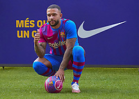 2021 Barcelona FC announce the signing of Memphis Depay Jul 22nd