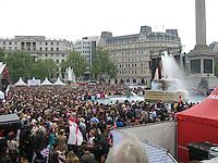 Royal Crowds, Trafalgar Square - London