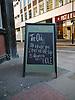 Pub Notice Board<br /> <br /> Stock Photo by Paddy Bergin