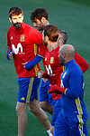 Spain's Gerard Pique during training session. March 20,2017.(ALTERPHOTOS/Acero)