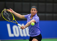 Rotterdam, Netherlands, December 17, 2015,  Topsport Centrum, Lotto NK Tennis, Kim Kilsdonk (NED)<br /> Photo: Tennisimages/Henk Koster