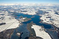 Biosphärenreservat Schaalsee im Winter: EUROPA, DEUTSCHLAND,  MECKLENBURG VORPOMMERN 17.02.2009:<br /> Im Jahre 2000 wurde die mecklenburger Schaalseelandschaft durch die UNESCO als Internationales Biosphaerenreservat  ausgewiesen. Biosphärenreservat Schaalsee im Winter