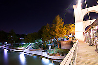 It's so F'ing hot in Texas - even on a beautiful Friday night in Waco where I shot these. Waco has its slums, no doubt, but it's got a surprisingly vibrant look at night in some areas, like right on the Brazos River. The main bridge I shot in these is a dedicated pedestrian bridge in a well lit park - not bad Waco. I also got the chance to meet two very nice couples - one of them had the fantastic setup featured in the gallery with the hammocks spread across the walkway, and were kind enough to let me interrupt their evening. At the end of the night, I also had the pleasure of meeting another photographer taking enjoying the evening in the park with her guy... Nice to talk a little shop with a fellow shooter.