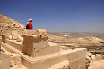 Judean desert, Herod's tomb in Herodion