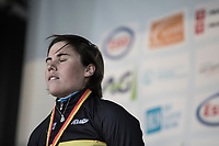 Sanne Cant (BEL/Iko Beobank) winning the Belgian National CX Championships 2018. <br /> <br /> Women's Race<br /> Belgian National Cyclocross Championships 2018 / Koksijde