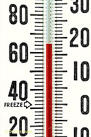 JB20-009x  Weather instrument - thermometer