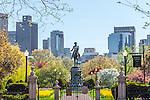 The Boston Public Garden, Boston, MA, USA