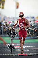 XXX competes during the XXX portion of the 2013 Ironman World Championship in Kailua-Kona, Hawaii on October 12, 2013.