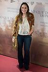 "Tamara Falco attends to the premiere of the film ""Lo que de verdad importa"" in Madrid, Spain. February 15, 2017. (ALTERPHOTOS/BorjaB.Hojas)"