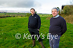 Kenny Jones (Chairperson of Kerry IFA) with his son Adam on their farm in Kielduff on Tuesday morning.