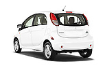 Car pictures of rear three quarter view of 2014 Mitsubishi i MIEV 5 Door Hatchback angular rear