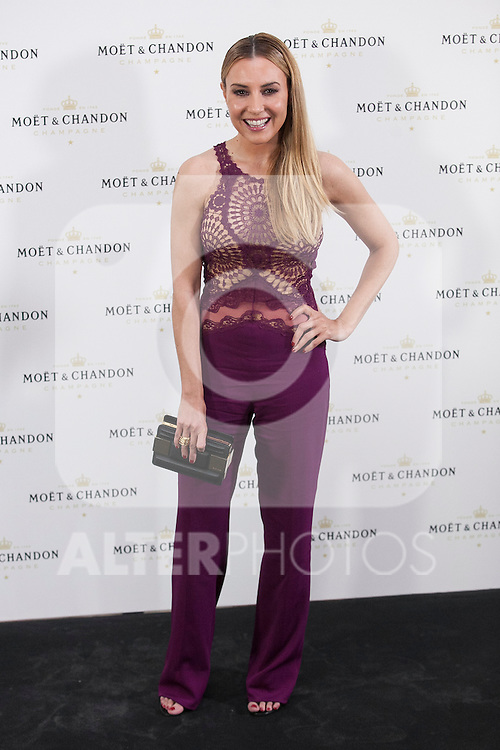 Berta Collado poses during Moet & Chandon event in Madrid, Spain. May 05, 2015. (ALTERPHOTOS/Victor Blanco)
