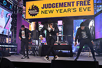 NEW YORK CITY - DECEMBER 31: LL Cool J appears on FOX'S NEW YEAR'S EVE WITH STEVE HARVEY: LIVE FROM TIMES SQUARE on December 31, 2019 in New York City. (Photo by Anthony Behar/Fox/PictureGroup)