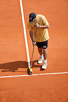 18-4-06, Monaco, Tennis,Master Series, courtmaintenance