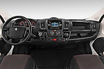 Stock photo of straight dashboard view of a 2015 Peugeot BOXER L4H2 4 Door Cargo Van Dashboard