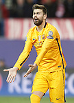 FC Barcelona's Gerard Pique during Champions League 2015/2016 Quarter-Finals 2nd leg match. April 13,2016. (ALTERPHOTOS/Acero)
