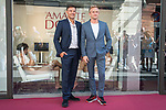 """French director François Ozon and french actor Jérémie Renier attends to the presentation of the french film 'El Amante Doble"""" at Cines Golem in Madrid, Spain September 04, 2017. (ALTERPHOTOS/Borja B.Hojas)"""