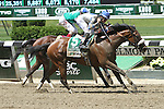 June 7, 2014: Sweet Reason with Irad Ortiz, Jr. wins the 84th running of the Grade I TVG Acorn Stakes for 3-year old fillies, going 1 mile at Belmont Park. Trainer: Leah Gyarmati. Owner: Treadway Racing Stables . Sue Kawczynski/ESW/CSM