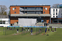 General view of nets practice ahead of Day Four of Worcestershire CCC vs Essex CCC, LV Insurance County Championship Group 1 Cricket at New Road on 2nd May 2021