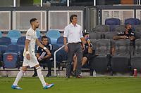 SAN JOSE, CA - SEPTEMBER 5: San Jose Earthquakes head coach Matias Almeyda during a game between Colorado Rapids and San Jose Earthquakes at Earthquakes Stadium on September 5, 2020 in San Jose, California.