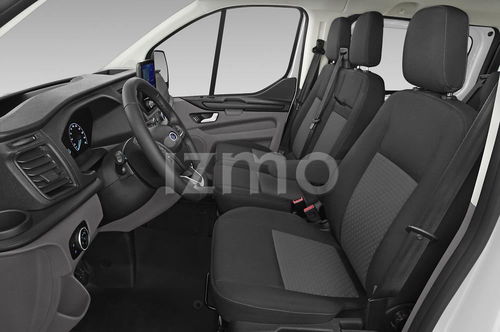 Front seat view of 2021 Ford Transit-Custom-Kombi Trend 5 Door Combi Front Seat  car photos