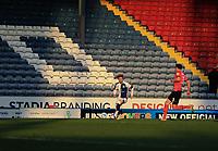 16th April 2021; Ewood Park, Blackburn, Lancashire, England; English Football League Championship Football, Blackburn Rovers versus Derby County; Harvey Elliott of Blackburn Rovers looks up for a team mate as he runs with the ball