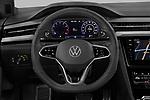 Car pictures of steering wheel view of a 2021 Volkswagen Arteon SEL-Premium-R-Line 5 Door Hatchback Steering Wheel